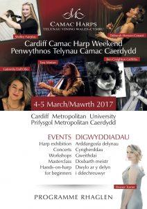 Cardiff Camac Harp Weekend 2017