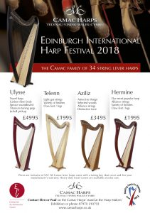 Edinburgh International Harp Festival 2018